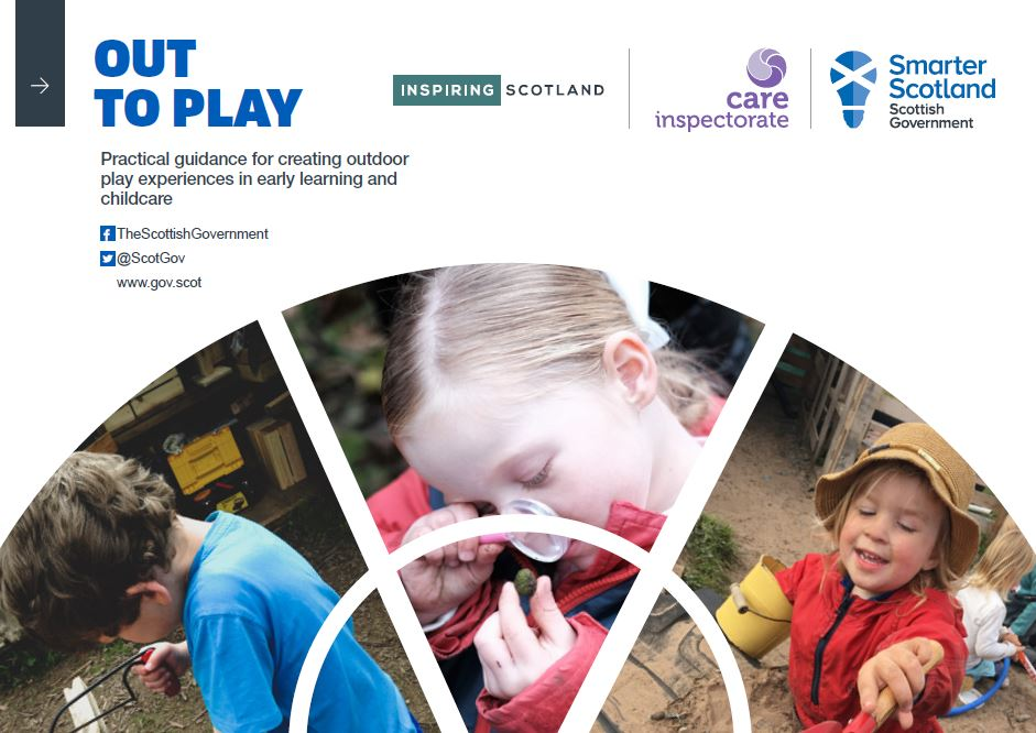 Scottish Government launches 'Out to Play' guidance