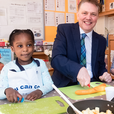 Care Inspectorate encourages healthy eating with the launch of Food Matters