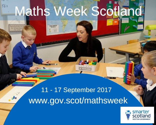 It's all adding up to the launch of Maths Week Scotland