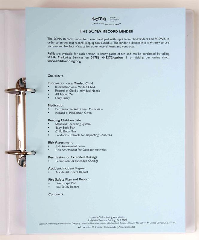 Care Plan Organiser Bindera4
